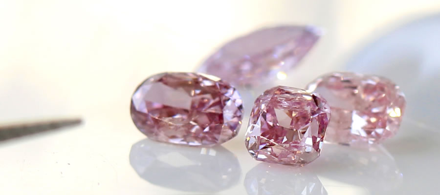 アーガイル産ピンクダイヤモンドのルース