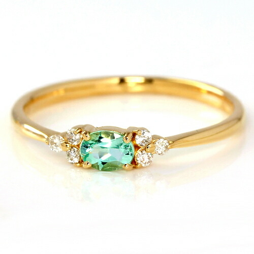 グリーンベリルの指輪