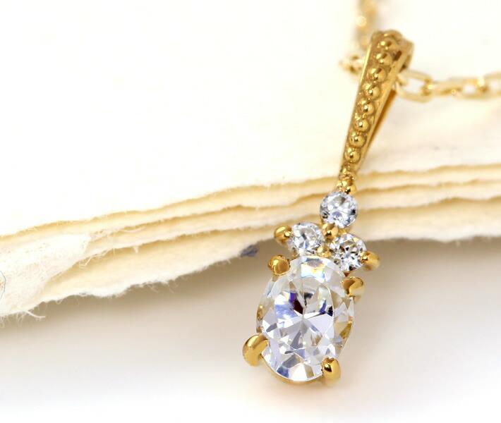 ダイヤモンドのペンダントップ「フラヴィア」