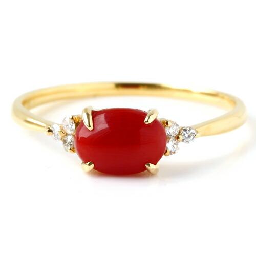珊瑚の指輪