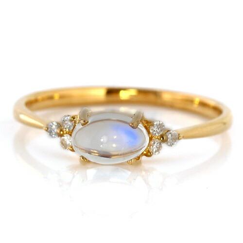 ロイヤルブルームーンストーンの指輪