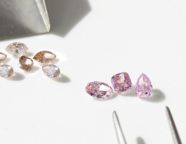 アーガイル産天然ピンクダイヤモンドのルース