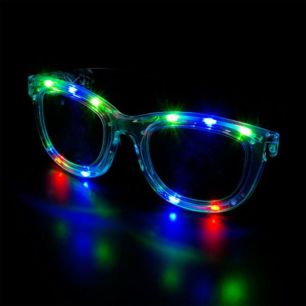 光るネガネ,おもしろめがね