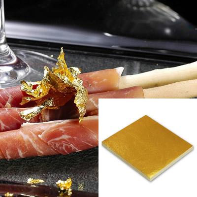 食品用金箔「純金の華」109mm角/100枚