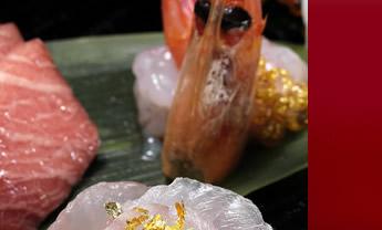 食品用金箔【純金の華】「細目」使用例