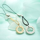 The eternal time. Swarovski with ☆ ウォッチペア R×G mobile strap PAIR-HHA4