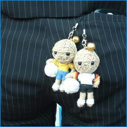 【楽天市場】ドゥカター人形ストラップ ワールドカッ