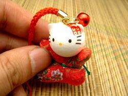 【楽天市場】和紙ハローキティ根付ストラップ:Kintsu Shop&#2700 :  hello kitty kintsu tu-ka fashion