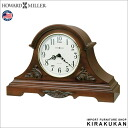 An import clock: It is table clock kiraku Howardmiller (product made in Howard mirror company U.S.A.) table clock Sheldon 635-127