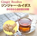 """Ginger, Rooibos, tea bags 20 follicles"