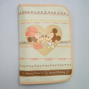 «Limited edition ★ free time» maternal and child Handbook case beige ( multicast ) (Disney)