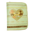 «» Mother and child Handbook case beige [extra large] ( multicast ) (Disney)