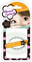 チアシルアイ rush (for the lower lashes) 101 カジュアルハニー the natural straight type false eyelashes, eyelashes, ツケマツゲ, false eyelashes, eyelashes.