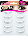 Star model rush bottom eyelashes for the natural straight] ( Huns ★ volume around a natural sense of )