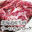 北海道産牛肉サーロインブロック 800g前後(約700g~約900g)業務用お買い得品