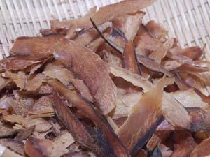 幹鯖魚 100g 日本鯖魚節革屑