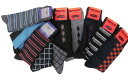 Casual socks (pattern) 10 feet large size socks large size (size 25-27) 995