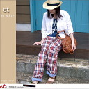 エボワット reversible relaxed pants E1584