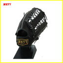 ZETT Pro status for tennis glove outfielder model right for (LH) BPROG27 color / 1900