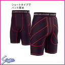 ★Each Kubota slugger sliding underwear K-200 size color: Black X red