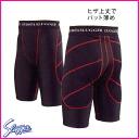 ★ Kubota Slugger sliding pants K-300 each size color: black / red