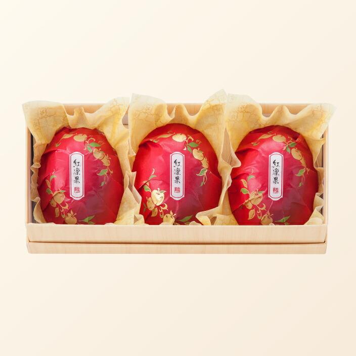 紅凛果 3個入