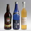 "It is three Kiuchi plum liqueur sets a height of Hitachi field nest beer, chrysanthemum purely U.S. brewing sake from the finest rice pure alcoholic drink ""summer first month"""