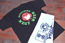Hitachino Nest Beer Original Logo Back Printed T-Shirts & Japanese Towel Set