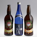 "720 ml of three height of Hitachi field nest beer & chrysanthemum purely U.S. brewing sake from the finest rice pure alcoholic drink ""in the summer first moon"" sets"