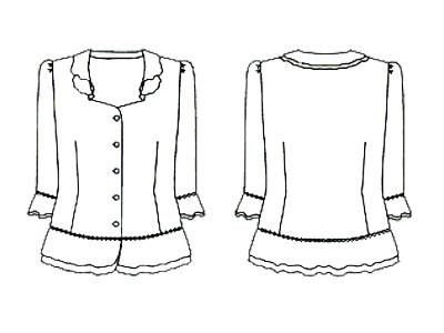 裙子礼服简笔画步骤图