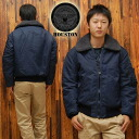 HOUSTON / Houston flight jacket TYPE B-15C see 5002' Navy ◆ casual/military/mens ◆
