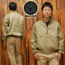 HOUSTON / Houston tankers jacket '5B-1X' ◆ casual/military/mens ◆