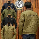 Houston HOUSTON n-1 DECK JACKET5N-1X tight silhouette ◆ military/casual/mens ◆
