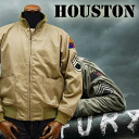 HOUSTON Houston tankers jacket fury model 5 B-FR ◆ FURY / Brad Pitt and no. 2 armoured Division and military ◆