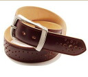 KC, s (ケイシイズ) 1 3 / 4-inch Sherman belt-KMD002 ◆ leather belt ◆
