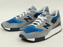 "NEW BALANCE( New Balance) M998-MD MadeinU.S.A. D Wise ""MOBY DICK"""