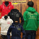 ストライクゴールド THE STRIKE GOLD hanging knit full sweat ZIP Park 1 / 4 MILE SGC007 ◆ casual/mens ◆