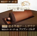 Far infrared rays dome sauna professional series horse mackerel Ann Golda