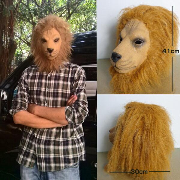 动物口罩狮子口罩面具是否