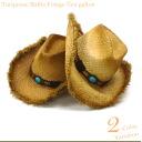 It bought ☆ ☆ I ラフィアフリンジテン-gallon Hat