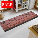 50% off outlet sale wash+dry (wash and dry) (excluding Hokkaido and Okinawa and remote islands) Cucina Mediterranea thin, sturdy washable kitchen mats 60 × 180cm屋 in and outdoor use
