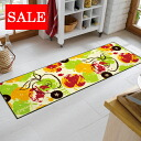 Washable kitchen mat 60x180cm indoor, outdoor combined use that 50% OFF outlet sale wash+dry (wash Ann dodo rye) Apples is thin (except Hokkaido, Okinawa and the remote island), and is durable