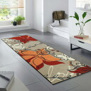 Wash+dry ( washanddry ) (excluding Hokkaido and Okinawa and remote islands) Blossom thin, sturdy washable kitchen mats 60x180cm in indoor and outdoor combined