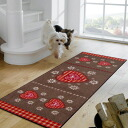 Washable kitchen mat 60x180cm indoor, outdoor combined use that wash+dry (wash Ann dodo rye) Alpengluck is thin (except Hokkaido, Okinawa and the remote island), and is durable