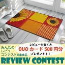 (Excluding Hokkaido and Okinawa and remote islands) wash+dry (wash and dry) Sunflower thin, sturdy washable door mat 50x75cm indoor and outdoor combined