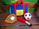 Cloth toys cloth picture book sports may sport bag learning