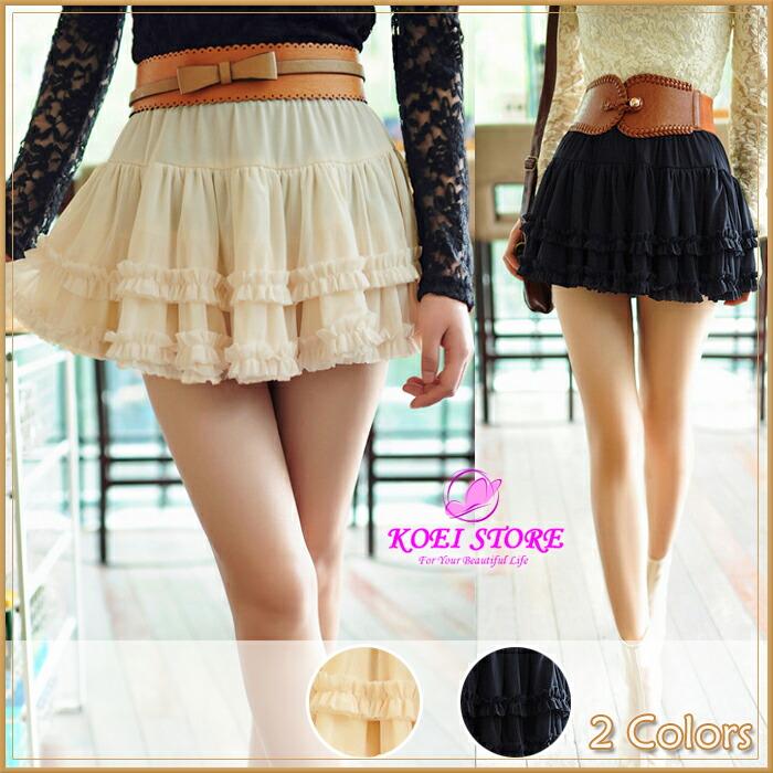 koeistore | Rakuten Global Market: Ruffle miniskirt! 60% ☆