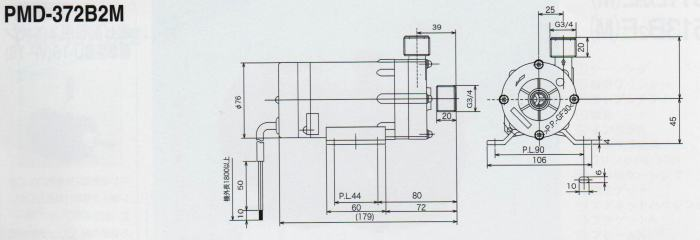 单相调速磁力转电机接线图