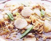 帆立貝と春雨のニンニク蒸し(調理例)
