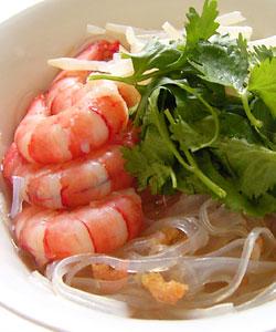海老と香菜のスープ春雨
